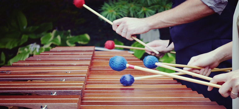 marimba playing
